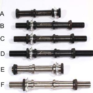 Zcoaster Axle Variations