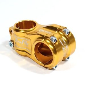 Profile Elite MTB Helm Stem Gold