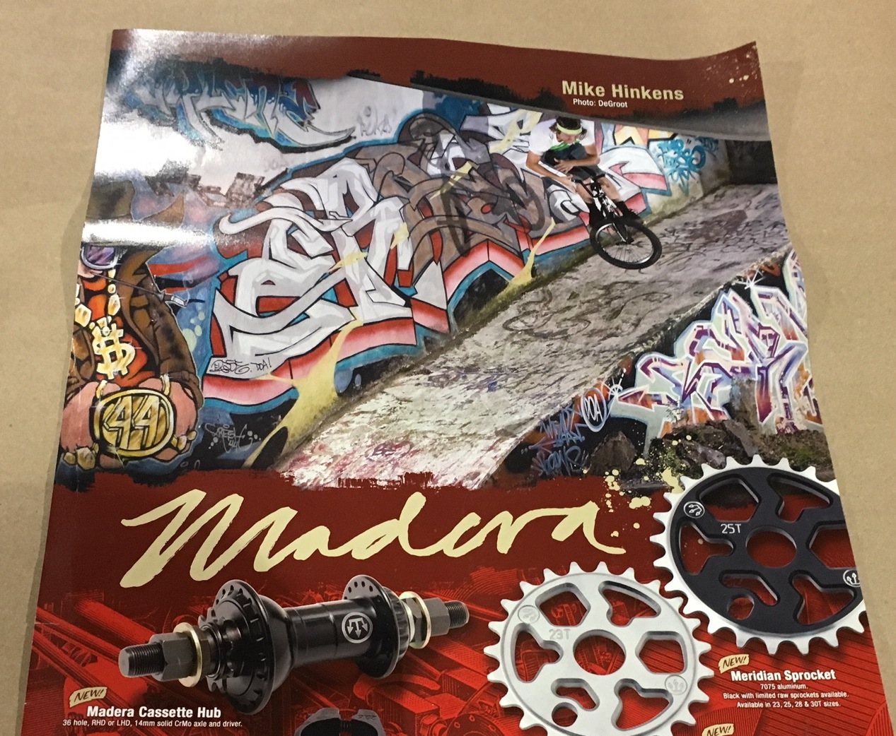 Initial, 2008 Madera product Poster.