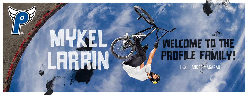 Mykel Larrin Welcome to Profile!
